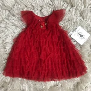 NWT! Marmellata Special Occasion Red Dress